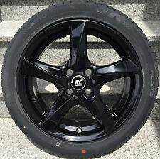 Brock RC30 16´´ black Smart Fortwo forfour 453 Alloy wheels Normal tyre Kumho