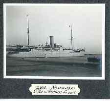 Algérie, Bougie, l'Ile de France au port  Vintage print Tirage argentique