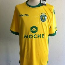 SHIRT  MAILLOT DU SPORTING CLUBE PORTUGAL SCP 2015 AWAY AUTHENTIQUE XL