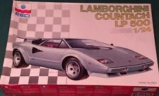 Lamborghini Countach LP 500  made in Italy by ESCI plastic model kit new
