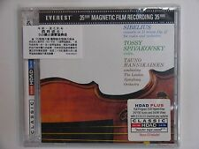 Sibelius Concerto for Violin & Orch. in D Minor Op.64 DVD-Audio + CD HDAD 2030