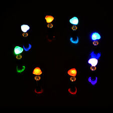 9 Pairs LED Flahsing Light up Earring Glowing Ear Studs Dance Party Accessories