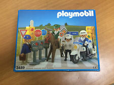 playmobil vintage  policiaS 3489 made in spain 1984 new old stock see photos