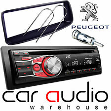 Peugeot 206 JVC CD MP3 AUX In Car Stereo Radio Player & Full Fitting Kit