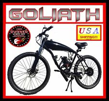 "POWERFUL DIY 2-STROKE 66CC/80CC MOTORIZED BICYCLE KIT WITH 26"" GAS TANK BIKE!"