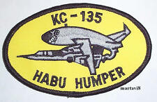 US. Air Force `KC-135 HABU HUMPER` Cloth Badge / Patch (AC4)