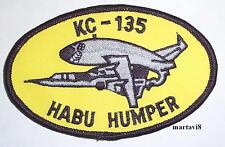 US. Air Force `KC-135 HABU HUMPER` Cloth Badge / Patch (AC4)