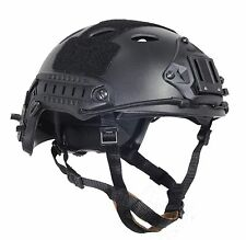 NEW Airsoft Paintball Protective FAST Helmet-PJ PROP Cosplay Black F818 M/L