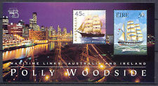 Schiffe, Ships - Irland, Australien - 1 Bl. ** MNH 1999 (001)