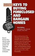 Keys To Buying Foreclosed and Bargain Homes (Barron's Business Keys)-ExLibrary