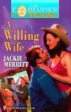 A Willing Wife (Fortunes Of Texas)-ExLibrary
