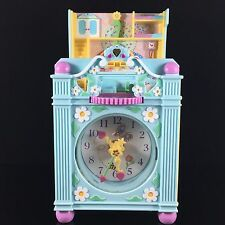 Polly Pocket Funtime Clock Bluebird Vintage 1991 Works!