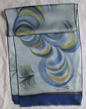 Belle écharpe foulard soie peint main - Isabelle de Serre Paris TBEG  Scarf
