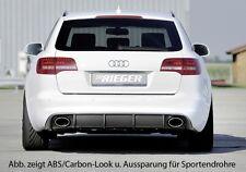 Audi A6 RS6 Heck 4F Facelift Heckeinsatz für original ESD li/re RIEGER-Tuning