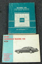 1991 Lincoln Mark VII Service Repair Manual Set