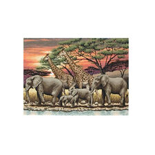 Anchor Maia-Cross Stitch Kit-African Sunset - 30 X 40 Cm - 01026