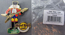 Hard Rock Cafe Pin Nutcracker Band Guitar Player Flying V - Louisville 2005