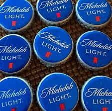 100 Michelob Light Blue Beer Bottle Caps Great For Crafts Free Shipping