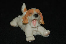 "Cocker Spaniel Puppy Dog Figurine-- Poly Resin-- 2 3/4""L x 2""W x 2""H"