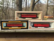 Lot of 3 HO Bachmann Central Pacific Old time passenger cars