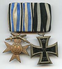Original Ordensspange eines Soldaten im Ersten Weltkrieg World War Deutschland