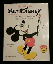 1988 THE ART OF WALT DISNEY BOOK BY CHRISTOPHER FINCH PORTLAND HOUSE