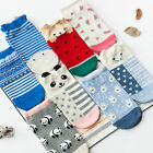 New Womens Cute Cartoon Animal Print Funny Cotton Low Cut Socks Soft Socks