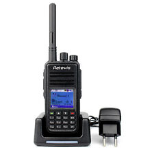 RETEVIS RT3 Walkie Talkie5W  UHF 1000CH LCD Digitale Mobile radio bidirezionale