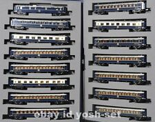 KATO 10-1230 10-1231 CIWL Orient Express 88 PARIS HONG KONG Wagons Lits 15 Car