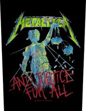 METALLICA - Rückenaufnäher Backpatch And Justice For All