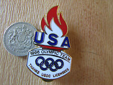 ATLANTA  Olympic Team USA  1996 Thanks UCOS Licensees  Original Metal  PIN Badge