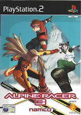 ALPINE RACER 3 for Playstation 2 PS2 - with box & manual - PAL