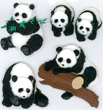 Jolee's PANDAS Stickers BEARS ZOO