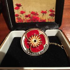 In Loving Memory Poppy Brooch *ANZAC Day * Remembrance Day * Memorial Day