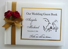 BEAUTY AND THE BEAST PERSONALISED WEDDING GUEST BOOK