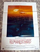 Im Schatten des Kilimandscharo * Rhys - A1-Filmposter - German 1-Sheet 1986 RAR