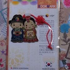 Metal Bookmark Korea Traditional Gracious Wedding Hanbok FreeShipping