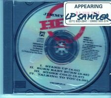 (EK417) Jimmy Barnes, Stand Up - 1993 DJ CD