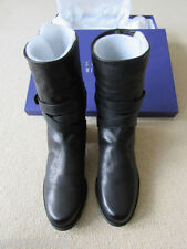 STUART WEITZMAN RANCH DRESSING BLACK VECCHIO NAPA BOOT, EUC, 8.5M