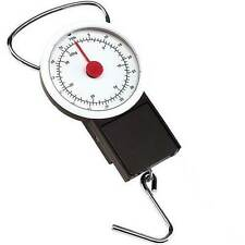 HAND HELD COMPACT 32 KG LUGGAGE TRAVEL SCALES HOOK HANG