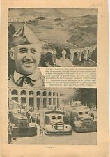 General Francisco Franco Bahamonde Guerre d'Espagne Spanish 1936 ILLUSTRATION