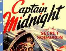 CAPTAIN MIDNIGHT, 15 CHAPTER SERIAL, 1942