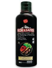KOK LIANG Chinese Herbal SHAMPOO Natural for Hair Darkening + Thickening 200ml