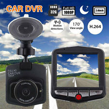 "Full HD 1080P 2.4"" Car DVR Dashcam Dash Cam Camera G-Sensor IR Night Vision"