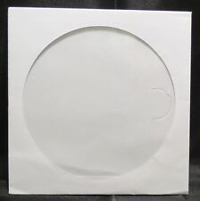 100 CD Sleeves DVD  CD-R Paper sleeve with Window Flap white case #102177