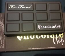 Too Faced MATTE CHOCOLATE CHIP Mini Eye Shadow Palette ~ AUTH w/receipt