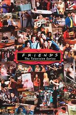 FRIENDS - TV SERIES COLLAGE POSTER - 24x36 - 51887