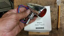 1 TWILIGHT DROP CUSTOM CHOPPER RED LED TURN INDICATOR SIGNAL LIGHT 510