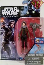 "SERGEANT JYN ERSO (JEDHA) Star Wars Rogue One Movie 3 3/4"" Action Figure 2016"