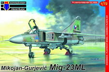 Kovozavody Prostejov 1/72 Model Kit 7269 Mikoyan MiG-23ML CzAF, E German, Iraq